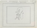 Animation Art:Production Drawing, Daffy Duck Animation Production Drawing Original Art (WarnerBrothers, c. 1950s/60s)....