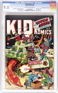 """Golden Age (1938-1955):Superhero, Kid Komics #5 Davis Crippen (""""D"""" Copy) pedigree (Timely, 1944) CGC VF/NM 9.0 Off-white to white pages. You'd be hard-pressed..."""
