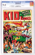 Golden Age (1938-1955):War, Kid Komics #6 (Timely, 1944) CGC VF/NM 9.0 Cream to off-white pages. Bucky hand-delivers a bomb to the Japanese while Toro a...