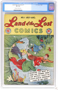 Golden Age (1938-1955):Humor, Land of the Lost #1 (EC, 1946) CGC VF+ 8.5 Off-white to white pages. Based on the Mutual Coast-to-Coast radio program. Overs...