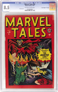 "Golden Age (1938-1955):Horror, Marvel Tales #94 Davis Crippen (""D"" Copy) pedigree (Atlas, 1949)CGC VF+ 8.5 Off-white to white pages. Formerly Marvel Mys..."