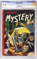 "Golden Age (1938-1955):Horror, Mister Mystery #4 Davis Crippen (""D"" Copy) pedigree (AragonMagazines, Inc., 1952) CGC VF/NM 9.0 Off-white to white pages. T..."