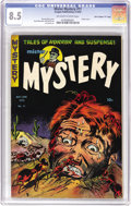 "Golden Age (1938-1955):Horror, Mister Mystery #11 Davis Crippen (""D"" Copy) pedigree (AragonMagazines, Inc., 1953) CGC VF+ 8.5 Off-white to white pages. In..."