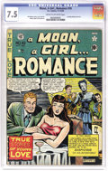 Golden Age (1938-1955):Romance, A Moon, A Girl... Romance #10 (EC, 1949) CGC VF- 7.5 Cream tooff-white pages. Wally Wood's first art for EC was not a sci-f...