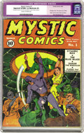 Golden Age (1938-1955):Superhero, Mystic Comics #1 (Timely, 1940) CGC Apparent VF/NM 9.0 Moderate (P) Cream to off-white pages. One of Timely's earliest title...