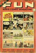 Platinum Age (1897-1937):Miscellaneous, New Fun Comics #1 (DC, 1935) Condition: Apparent VG. This is thefirst DC comic book, and it's a milestone by any standard. ...