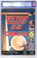 Golden Age (1938-1955):Superhero, New York World's Fair Comics 1939 (DC, 1939) CGC VG 4.0 Cream to off-white pages. Superman (who appears blond on the cover f...