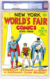 New York World's Fair Comics 1940 (DC, 1940) CGC FN/VF 7.0 Cream to off-white pages. One of the most important comics ev...