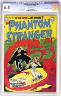 "Golden Age (1938-1955):Horror, Phantom Stranger #2 Davis Crippen (""D"" Copy) pedigree (DC, 1952)CGC FN+ 6.5 Off-white pages. Overstreet calls this issue ""s..."