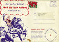 Golden Age (1938-1955):Western, Red Ryder Victory Patrol Kit 1943 (Dell, 1943) Condition: FN. Thispromotional kit from Langendorf Bread included a cut-out ...