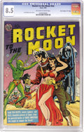 "Golden Age (1938-1955):Science Fiction, Rocket to the Moon #nn Davis Crippen (""D"" Copy) pedigree (Avon,1951) CGC VF+ 8.5 Off-white to white pages. Joe Orlando give..."