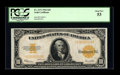 Large Size:Gold Certificates, Fr. 1173 $10 1922 Gold Certificate PCGS About New 53....