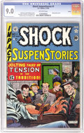 Golden Age (1938-1955):Horror, Shock SuspenStories #1 Aurora pedigree (EC, 1952) CGC VF/NM 9.0Off-white pages. While many EC comics pass through our hands...