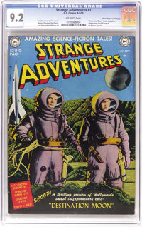 "Strange Adventures #1 Davis Crippen (""D"" Copy) pedigree (DC, 1950) CGC NM- 9.2 Off-white pages"