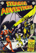 "Golden Age (1938-1955):Science Fiction, Strange Adventures #18 Davis Crippen (""D"" Copy) pedigree (DC, 1952)Condition: VF/NM. This issue's Captain Comet cover is cr..."