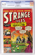 "Golden Age (1938-1955):Horror, Strange Tales #2 Davis Crippen (""D"" Copy) pedigree (Marvel, 1951)CGC FN+ 6.5 Off-white pages. This issue of Marvel's early ..."