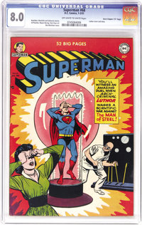"Superman #68 Davis Crippen (""D"" Copy) pedigree (DC, 1951) CGC VF 8.0 Off-white to white pages. Amazingly enoug..."