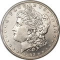 Morgan Dollars, 1893-S $1 MS65 NGC....