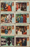 """Movie Posters:Horror, Brides of Dracula (Universal International, 1960). Lobby Card Set of 8 (11"""" X 14""""). Horror.. ... (Total: 8 Items)"""