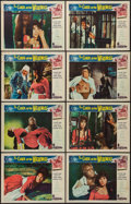 "Movie Posters:Horror, Curse of the Werewolf (Universal International, 1961). Lobby Card Set of 8 (11"" X 14""). Horror.. ... (Total: 8 Items)"