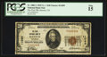 National Bank Notes:Colorado, Haxtun, CO - $20 1929 Ty. 1 The First NB Ch. # 11099. ...
