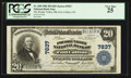 National Bank Notes:Colorado, Fort Collins, CO - $20 1902 Plain Back Fr. 650 The Poudre Valley NBCh. # 7837. ...