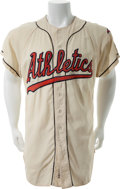 Baseball Collectibles:Uniforms, 1959 Jerry Lumpe Game Worn Kansas City Athletics Jersey....