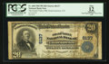 National Bank Notes:Colorado, Grand Junction, CO - $20 1902 Plain Back Fr. 660 The Grand ValleyNB Ch. # 6137. ...