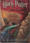Books:Children's Books, J. K. Rowling. Harry Potter and the Chamber of Secrets.Levine/Scholastic, 1999. First American edition, first print...