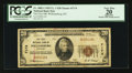 National Bank Notes:Kentucky, Williamsburg, KY - $20 1929 Ty. 1 The First NB Ch. # 7174. ...