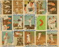 Autographs:Sports Cards, 1959 Fleer Ted Williams Uncut Sheet Signed Fifteen Times....