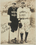 Autographs:Photos, 1927 Lou Gehrig Signed Barnstorming Photograph....