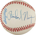 Autographs:Baseballs, 1982 President Richard Nixon Single Signed Baseball....
