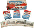 """Non-Sport Cards:Unopened Packs/Display Boxes, 1955 Topps """"Rails and Sails"""" Wax Box With 21 Unopened Wax and Cello Packs! ..."""