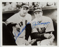Autographs:Baseballs, Circa 1990 Ted Williams and Joe DiMaggio Multi Signed Photograph....