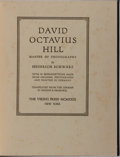 Books:Photography, [Photography]. Heinrich Schwarz. David Octavius Hill: Master of Photography. Viking, 1931. First edition, first prin...