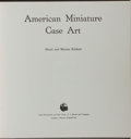Books:Photography, [Photography]. Floyd and Marion Rinhart. American Miniature Case Art. Barnes, 1969. Publisher's cloth with light rub...