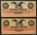 Obsoletes By State:Louisiana, New Orleans, LA- New Orleans Canal & Banking Company $10 Remainders G26a Two Examples.. ... (Total: 2 notes)