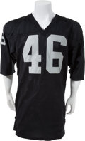 Football Collectibles:Uniforms, Circa 1986-88 Todd Christensen Game Worn Los Angeles RaidersJersey....