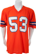Football Collectibles:Uniforms, Late 1970's Randy Gradishar Game Worn Denver Broncos Jersey....