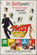 "Movie Posters:Rock and Roll, Twist Around the Clock (Columbia, 1961). One Sheet (27"" X 41""), andPhotos (6) (8"" X 10""). Rock and Roll.. ... (Total: 7 Items)"