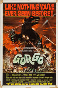 "Movie Posters:Science Fiction, Gorgo (MGM, 1961). One Sheet (27"" X 41"") and Herald (4 Pages, 11"" X 16.25""). Science Fiction.. ... (Total: 2 Item)"