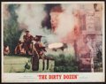 "Movie Posters:War, The Dirty Dozen (MGM, 1967). Lobby Card (11"" X 14""). War.. ..."