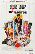 """Movie Posters:James Bond, Live and Let Die & Other Lot (United Artists, 1973). One Sheets (2) (27"""" X 41""""). James Bond.. ... (Total: 2 Items)"""