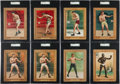 Boxing Cards:General, 1910-11 T9 Turkey Red SGC Graded Boxing Collection (8). ...