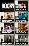 "Movie Posters:Academy Award Winners, Rocky (United Artists, 1977). Lobby Cards (7) (11"" X 14"") & Program (4 Pages, 9"" X 12""). Academy Award Winners.. ... (Total: 8 Items)"
