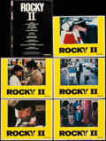 """Movie Posters:Sports, Rocky II (United Artists, 1979). Lobby Cards (5) (11"""" X 14"""") & Program (8 Pages, 11"""" X 15""""). Sports.. ... (Total: 6 Items)"""