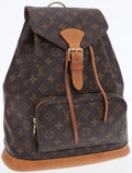 Luxury Accessories:Bags, Louis Vuitton Classic Monogram Canvas Montsouris GM Backpack . ...