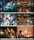 "Movie Posters:Rock and Roll, The Rocky Horror Picture Show & Other Lot (20th Century Fox, 1975). Lobby Cards (6) (11"" X 14""), Promotional Poster (17"" X 2... (Total: 8 Items)"