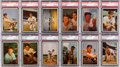 Baseball Cards:Sets, 1953 Bowman Color Complete Set (160) With 135 PSA Graded Cards. ...